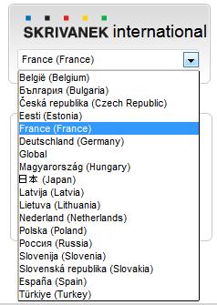 Wersje językowe strony