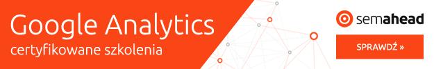 google analytics szkolenia