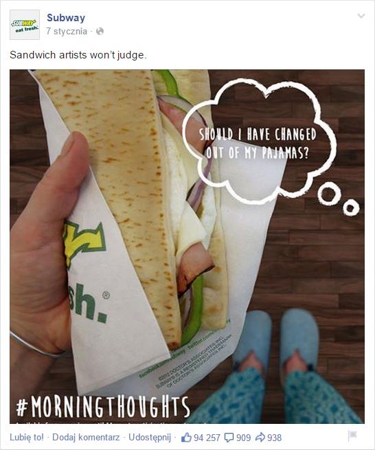 Ucięta grafika Subway