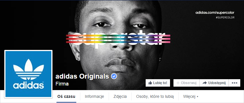 Złe profilowe - Adidas Originals