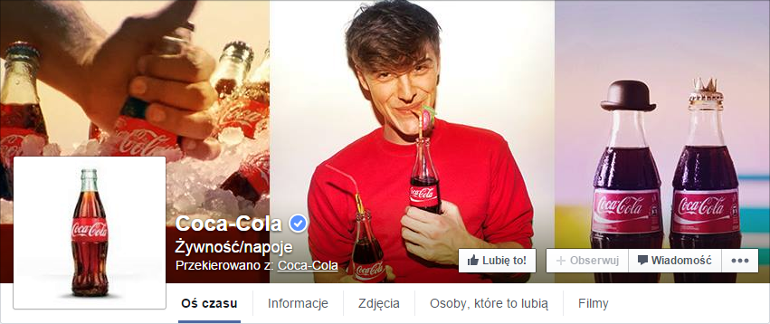 Złe profilowe - Coca-Cola