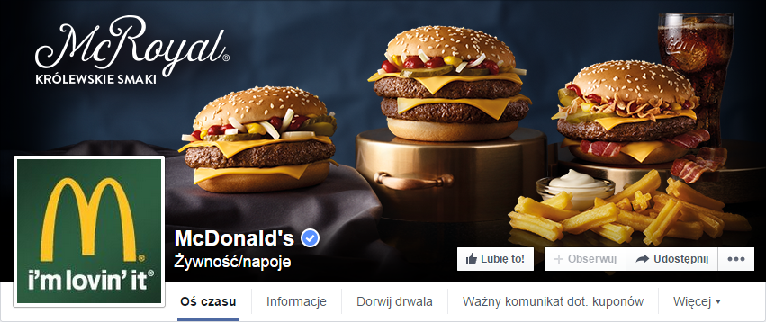 Złe profilowe - McDonalds
