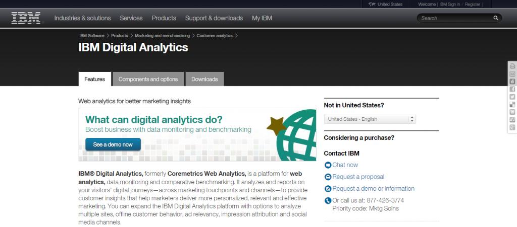 IBM Digital Analytics