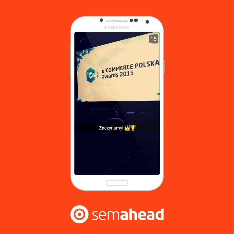 ecommerce awards snapchat