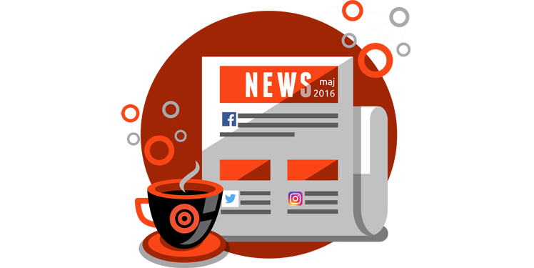 Przegląd newsów social media - maj