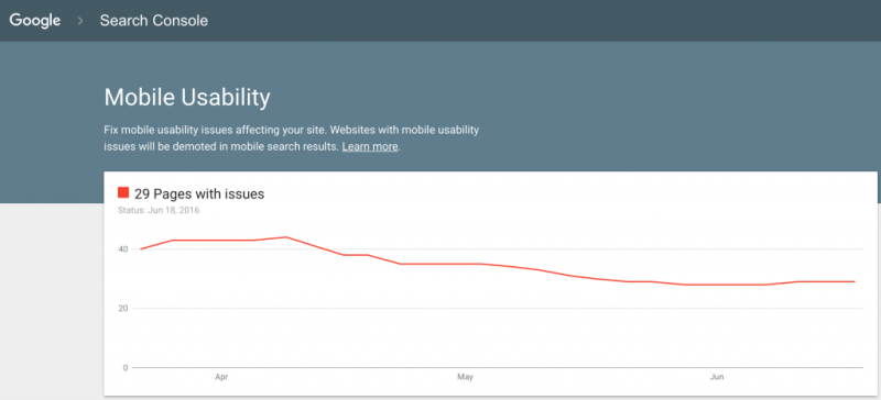 Nowy interfejs raportu mobilnego