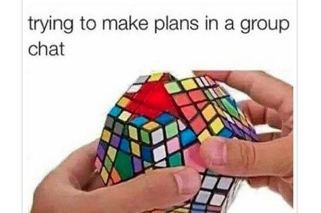 Robienie planów w dużej grupie