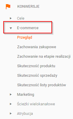 e-commerce-Google-Analytics