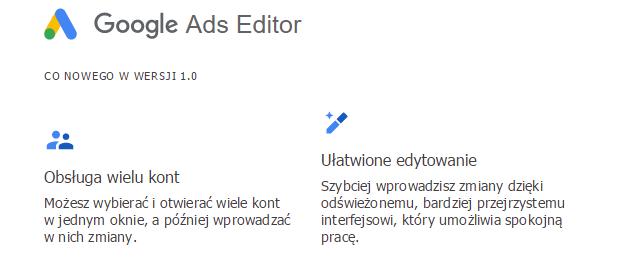 Google ads zrzut