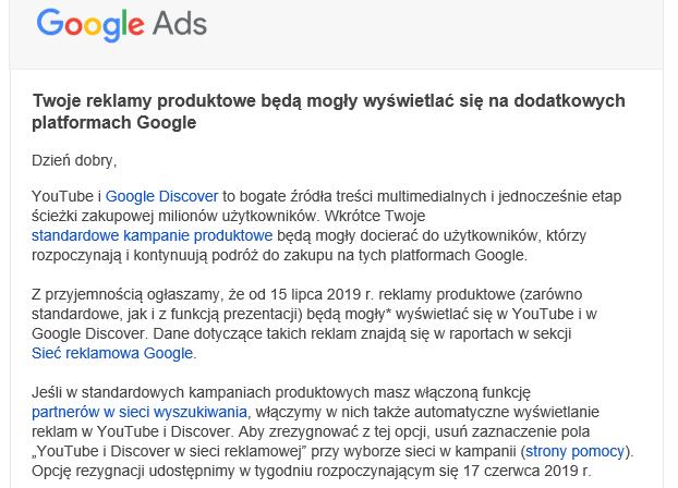 google ads product