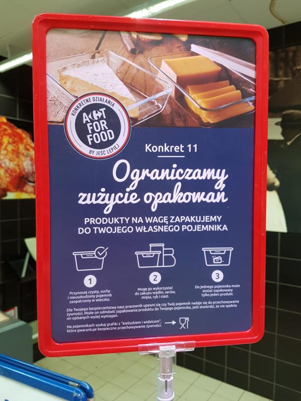 Carrefour ogranicza zużycie opakowań