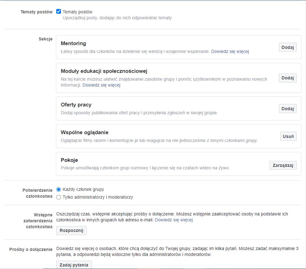 Jak założyć irozwijać grupę naFacebooku