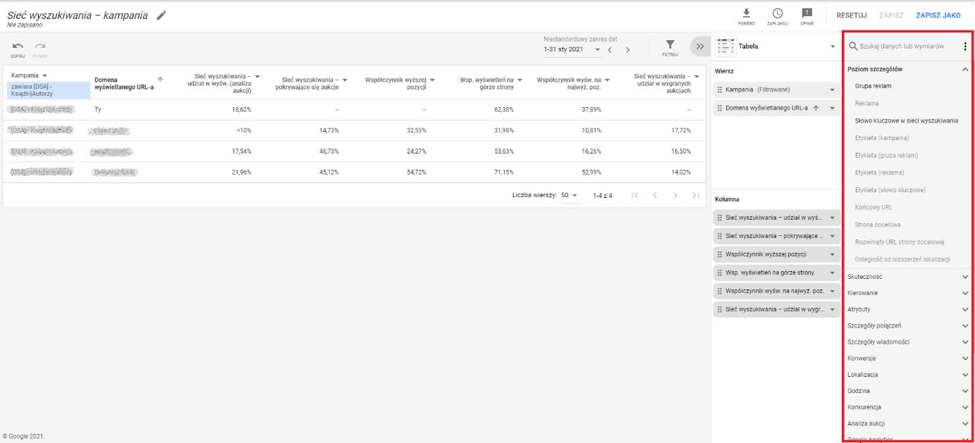 Jak sprawdzić swoją konkurencję przy pomocy raportów zGoogle Ads?