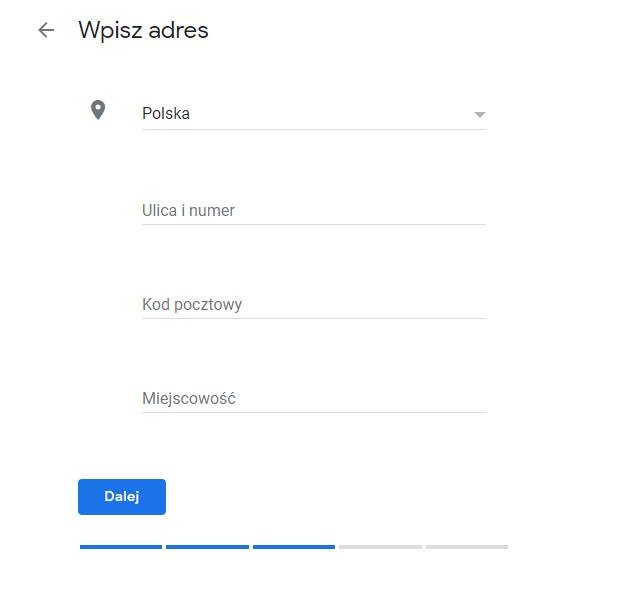 Jak stworzyć wizytówkę Google Moja Firma?